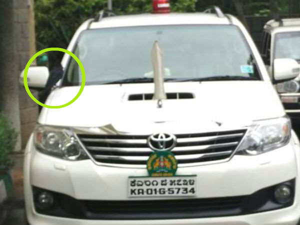 Crow Incident Cm Siddaramaiah Decided To Change His Car