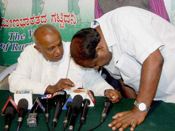 JDS meet in Mandya too strengthen party from roots : Deve Gowda