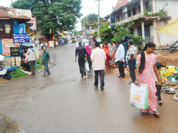 Madikeri people getting ready for grand monsoon