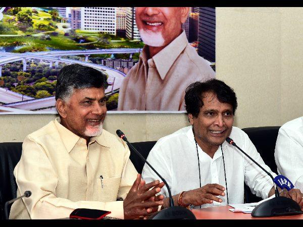 Suresh Prabhu High Speed Rail Bengaluru Amaravati Benefits Karnataka