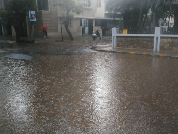 Heavy rain lashes Bengaluru on 1st June