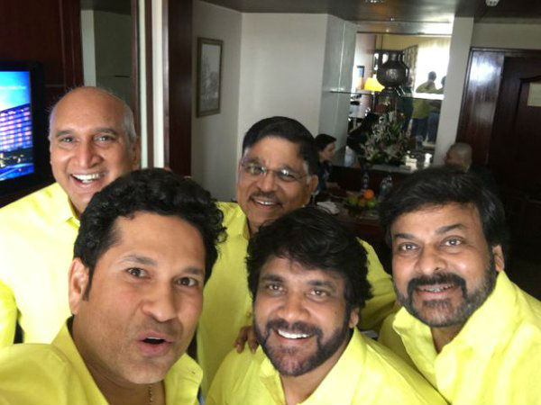 ISL: Chiranjeevi, Nagarjuna join Sachin Tendulkar as Kerala Blasters co-owners