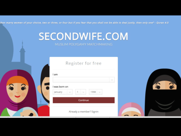 A website to hire a 'Second Wife' in Britain