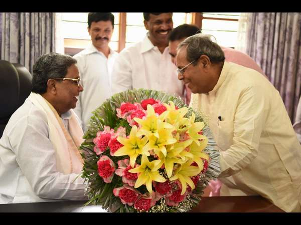 In pics : Siddaramaiah Cabinet meet with 13 new faces