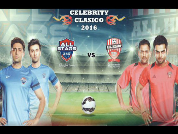 Kohli-Dhoni to play football against Bollywood actors: Will Team India continue their winning spree?