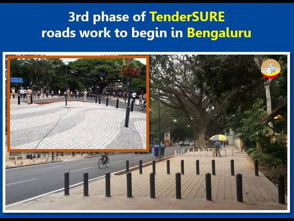 BBMP preparing the ground for 3rd phase of Tender SURE roads