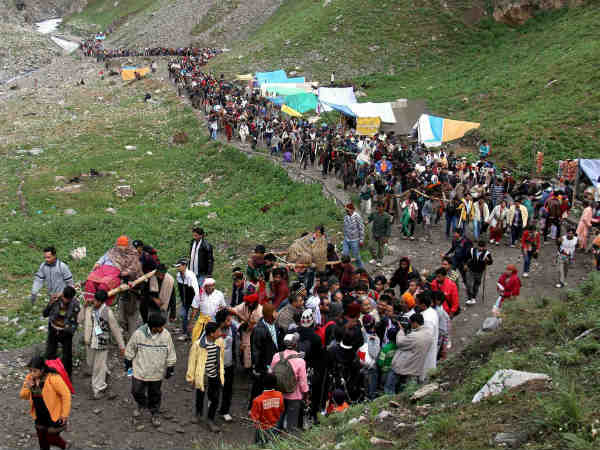 Amarnath Yatra remains suspended for 2nd day