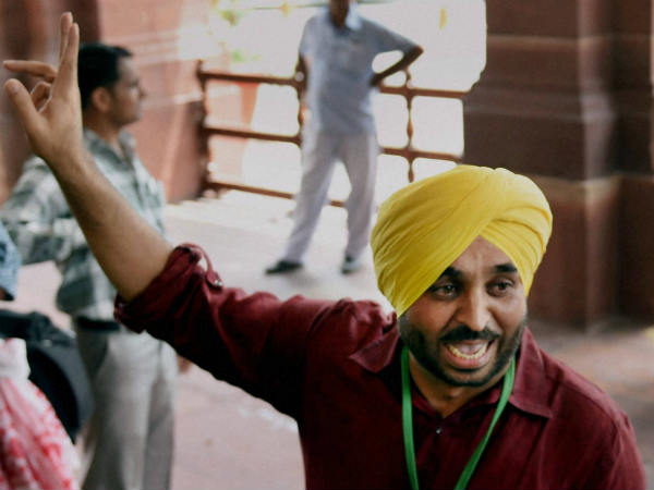Bhagwant Mann offers unconditional apology for Parliament video