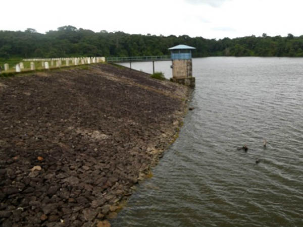 Attractive Chiklihole reservoir near Kushalnagar in Coorg