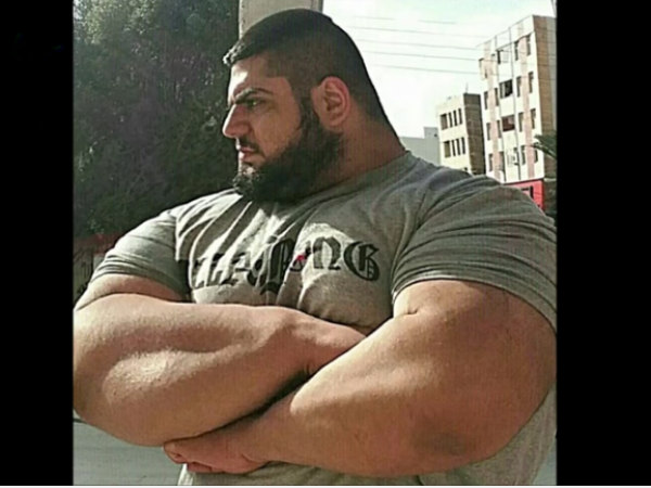Iranian Hulk Persian Hercules, Weightlifter Gharibi to fight against ISIS