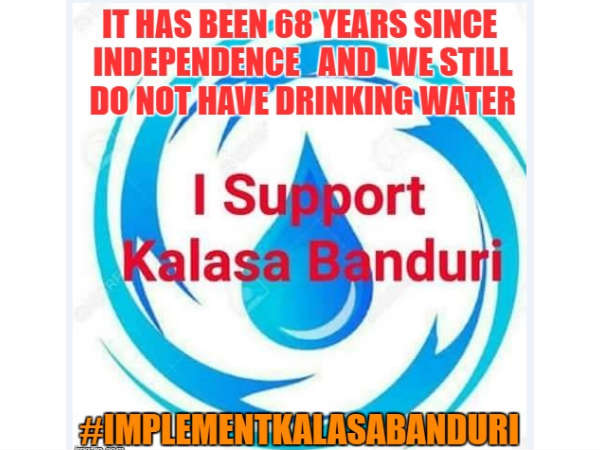 Know why #ImplementKalasaBanduri is trending on Twitter
