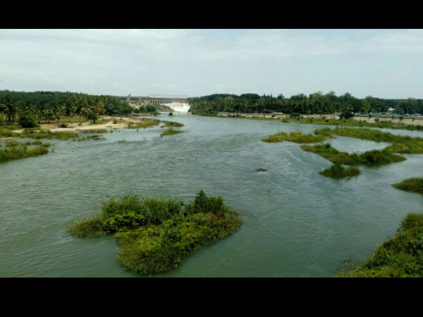 Mandya Farmers protest release of Cauvery water to TN