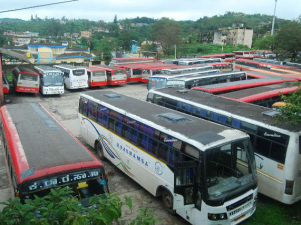 Private buses cool the heat created by govt bus strike
