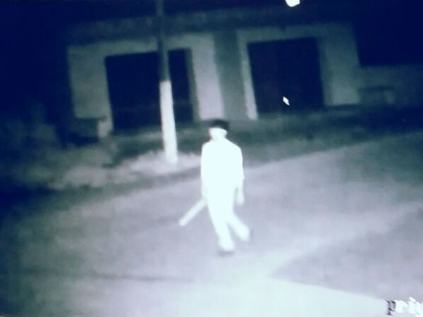 Ghost of thief caught in CCTV in Madikeri