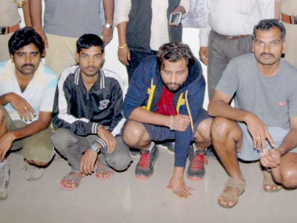 Four Arrested Trekking Without Permission Male Mahadeshwara