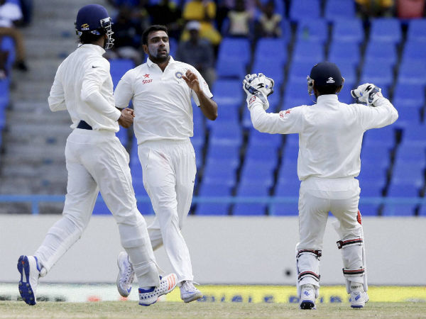 Ashwin stars with bat and ball as India record biggest Test win outside Asia