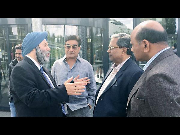 Cm Siddaramaiah Reaches Brussels Rakesh Condition Critical