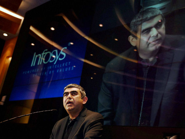 Infosys CEO Vishal Sikka's salary drops 40% after Q4 results