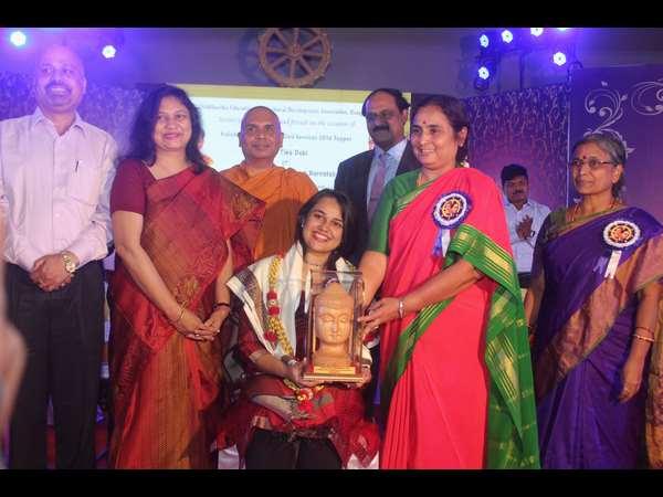 Upsc Topper Tina Dabi Felicitated Siddartha Educational Association