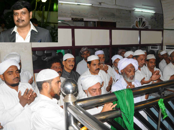 Special Prayers Offered Rakesh Siddaramaiah Dargah Shariff Ullal
