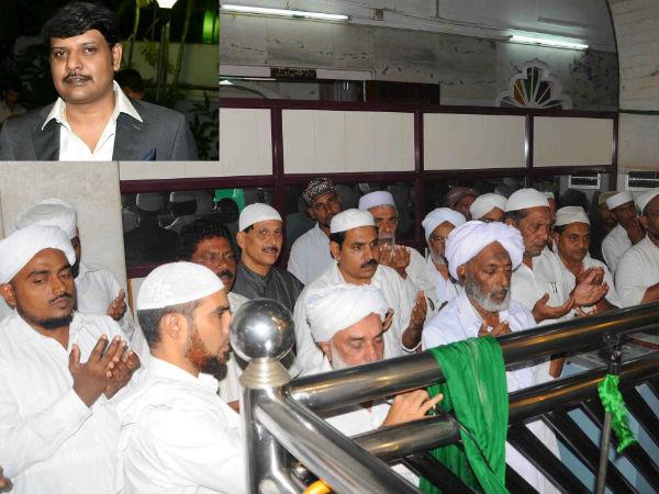 Special Prayers Offered Rakesh Siddaramaiah Dargah Shariff Ullal