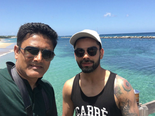 Pics: Virat Kohli & Co visit island, enjoy team bonding session ahead of Test series with WI