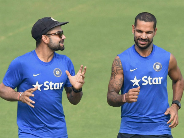 Shikhar Dhawan Replace Injured Murali Vijay India S Tour Sri Lanka