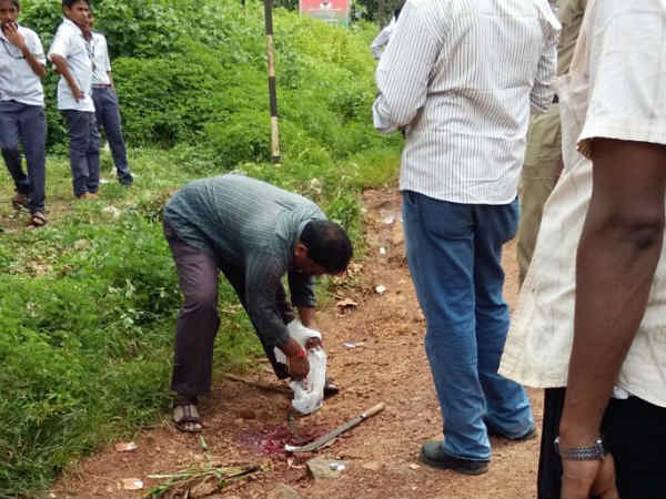 Rowdy sheeter attacked in broad daylight, Mangaluru