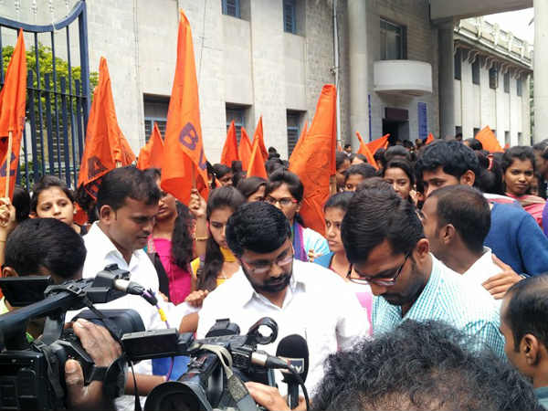 ABVP demands for ban of Amnesty International India