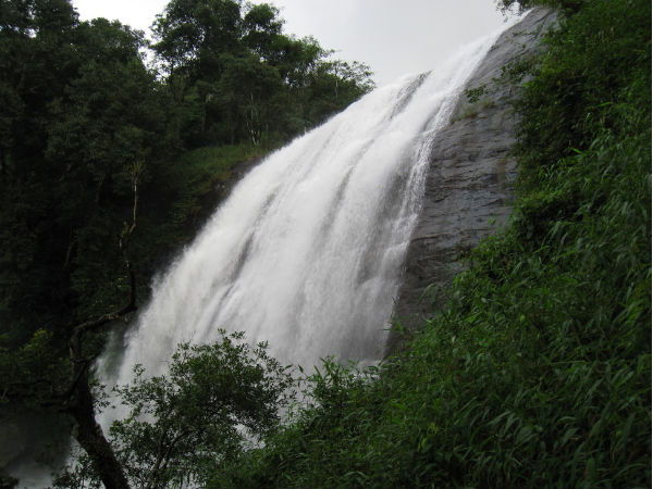 Caution : Madikeri Falls are attractive but dangerous