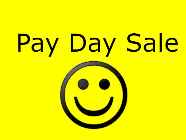 PAY DAY SALE! When Salary Is Credited, Save More & Shop More