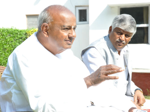 NICE issue Deve Gowda waiting for SC order