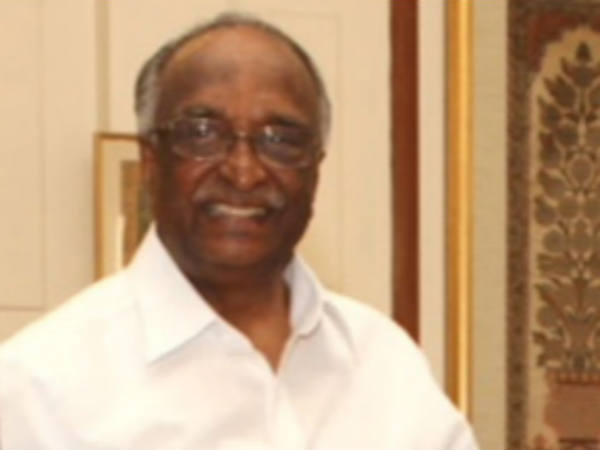 DH Shankaramurthy likely to become governor of Tamil Nadu