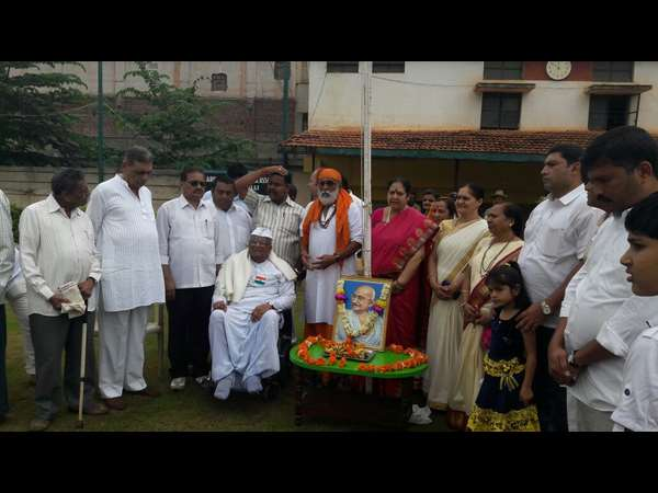 Indepedence day celebration in Hubballi