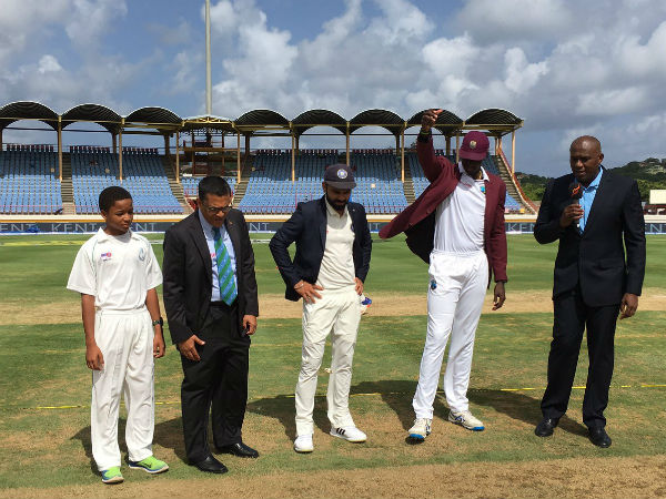 3rd Test: West Indies win toss, invite India to bat first