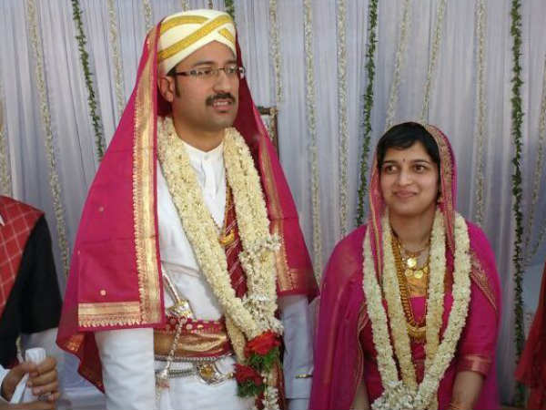 IRS officer preeth married a software engineer