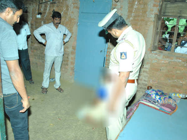 Woman murderd in Mandya for Property dispute