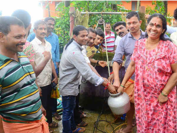 Hot water emerges from well near Polali, Mangaluru