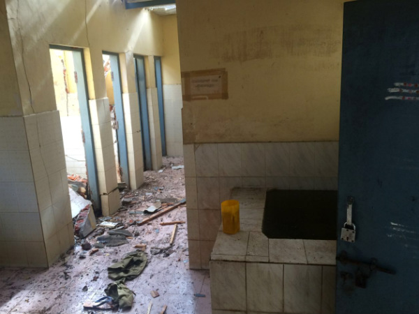 Blast in Mysuru court in Public toilet room