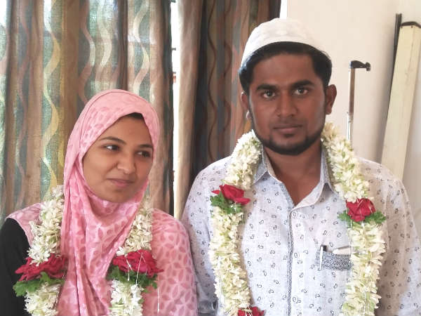 Eloped Muslim lovers get married in Odanadi