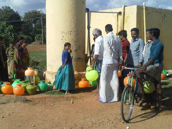 Water problem peak in Chamarajnagar