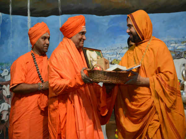 Raghaveshwara Seer of Ramachandrapura Math's 35th day speech