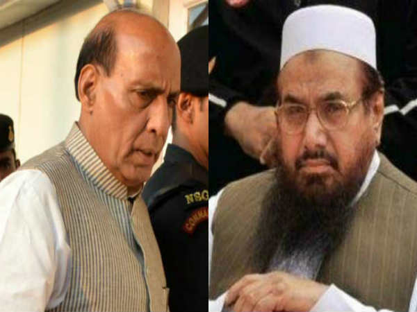 JuD Chief Hafiz Saeed warned countrywide protest if Rajnath Singh visited Pakistan