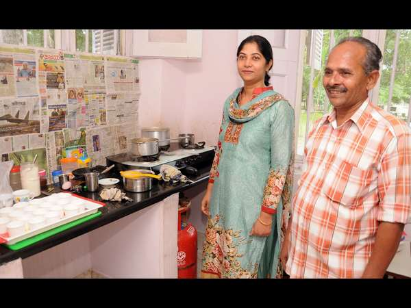 DC Shikha prepared tea for guests, Mysuru