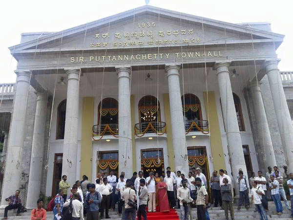BBMP increases Town Hall Rent Tariff