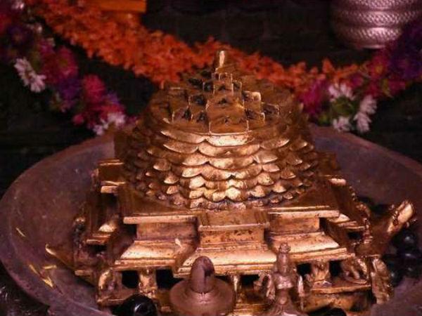 ನವರಾತ್ರಿಗೆ ಸಿದ್ಧಗೊಂಡಿದೆ ಹೆಬ್ಬೂರು ಶ್ರೀಚಕ್ರ ಕಾಮಾಕ್ಷಿ ದೇಗುಲ