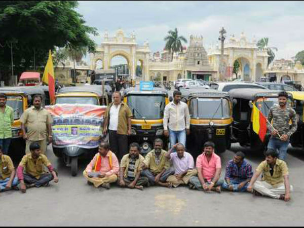 Cauvery issue: Protest continued in Mysuru