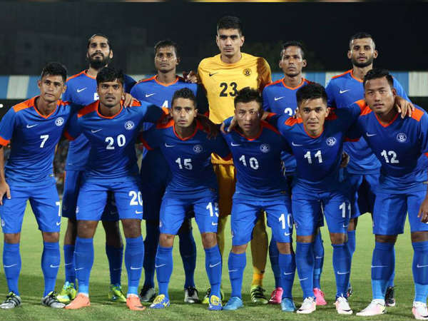 Indian football team (Image courtesy: Indian Football team facebook page)