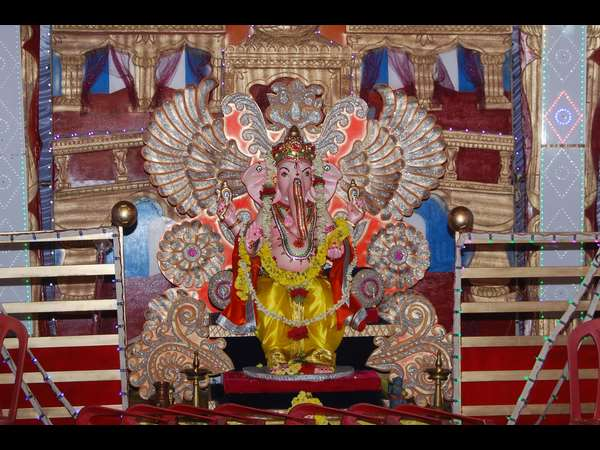 Grand celebration of Ganesha utsav in Madikeri