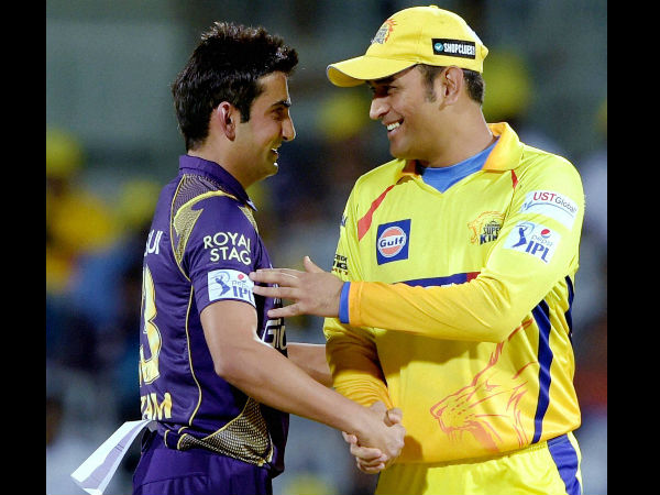 Gambhir takes a dig at Dhoni, says cricketers don't deserve biopics